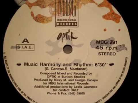 "Optik ""Music Harmony and Rhythm"""