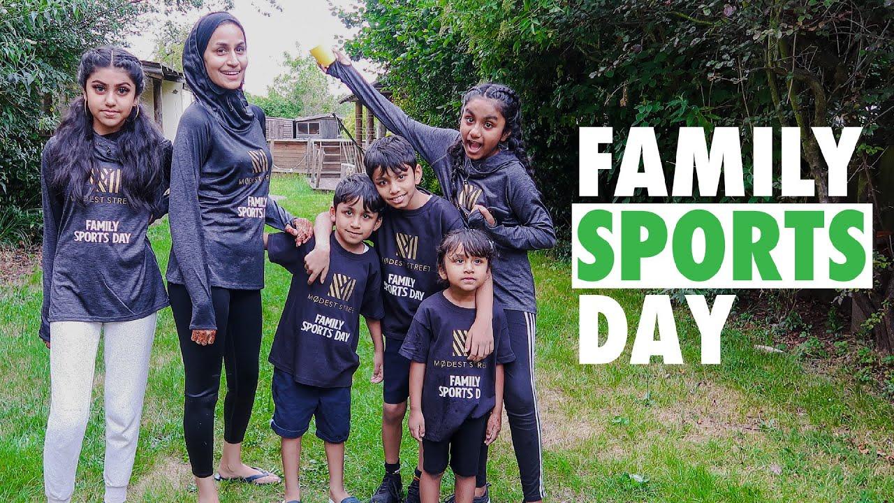 FAMILY SPORTS DAY VLOG & FUN
