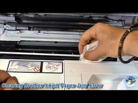 "Fixing Brother Printer ""Paper Jam"" Error with No Paper Jammed"