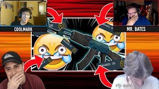 """YouTubers reacting to """"so i came back to critical ops and this happened"""""""