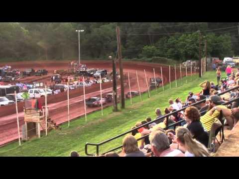 Winder Barrow Speedway Modified Street Feature Race 6/20/15
