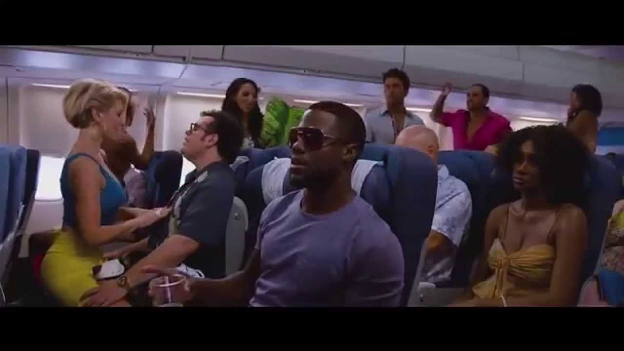the wedding ringer | plane scene [hd] - youtube