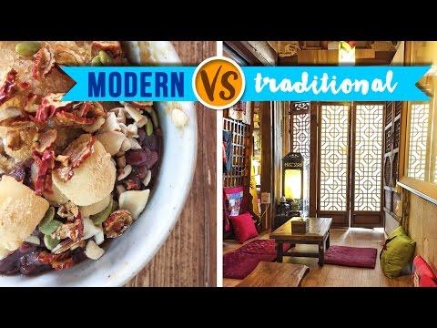 Traditional vs Modern Korean Cafes in Seoul