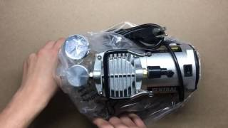 Harbor Freight Airbrush Compressor and Airbrush Kit Unboxing
