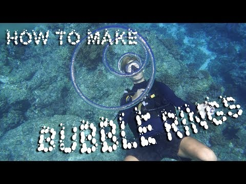 How To Blow Bubble Rings In A Pool