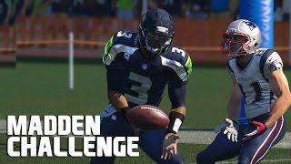 Can Russell Wilson Intercept Malcolm Butler? Madden NFL Challenge