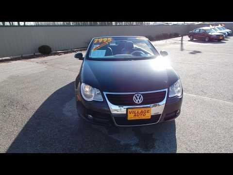 2008 Volkswagen Eos 2.0T #317078 Village Auto - www.VillageAutoOnline.com