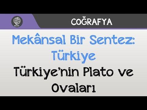 Mekânsal Bir Sentez: Türkiye - Türkiye'nin Plato ve Ovaları