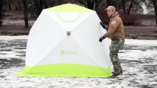 Палатка для зимней рыбалки LOTOS Cube Professional M. Интернет-магазин godzhik.ru(, 2015-11-09T12:00:55.000Z)