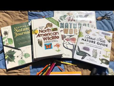NATURE JOURNAL FOR KIDS - WITH FREE NATURE JOURNAL CALENDAR