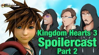 GBxKZxFeel Kingdom Hearts 3 Spoilercast Part 2