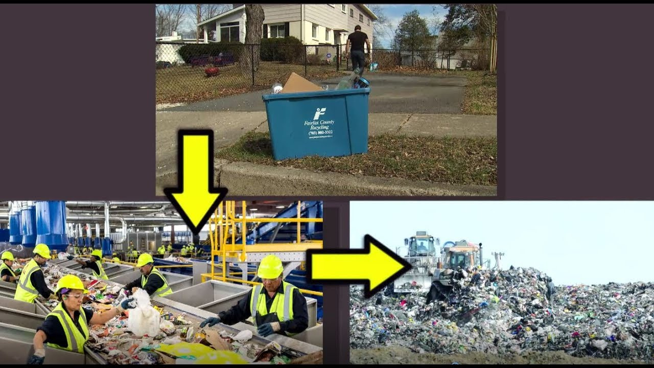 fairfax county glass recycling