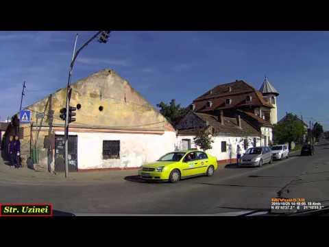 Driving in Timişoara: Bd. Eroilor de la Tisa - Ghiroda. (Timelapse 2x)