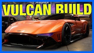 Need for Speed Payback : ASTON MARTIN VULCAN CUSTOMIZATION!! (NFS Payback Gameplay)