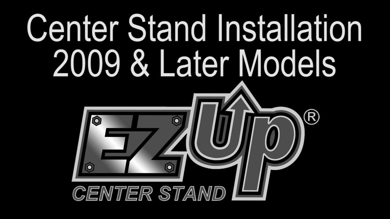 EZ Up Center Stand Installation