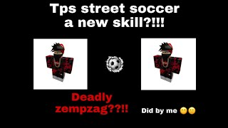 (ROBLOX)tps street soccer:New skill that I made