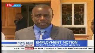 Meru MCAs pass employment motion demanding permanent contracts for all