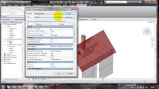 Revit Architecture - Lekcja 9 - Dach
