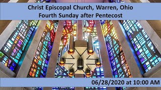 Christ Episcopal Church, Warren, OH 06/28/20