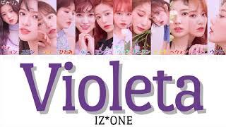 Download lagu 【日本語字幕/かなるび/歌詞】Violeta(비올레타)-IZ*ONE(アイズワン) MP3