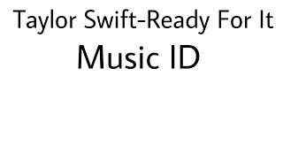 Roblox ID Taylor Swift-Ready For It