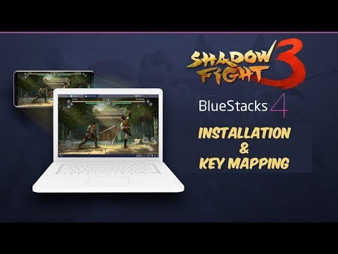 Shadow Fight 3 Installation In BlueStacks 4 And Key Mapping And Gameplay
