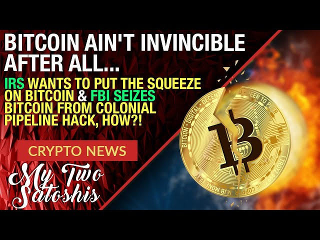 BITCOIN AIN'T INVINCIBLE AFTERALL! IRS FIRES SHOTS AT BTC | FBI ABLE TO OVERTAKE WALLETS??!