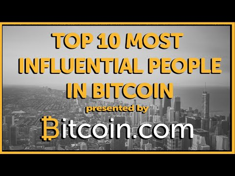 Top 10 Most Influential People in Bitcoin - Bitcoin.com #4