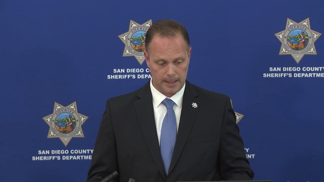 News Conference - Coronado Death Investigation Review