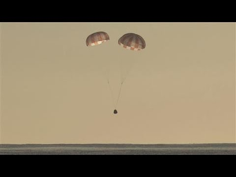 SpaceX Dragon Cargo Spacecraft Returns to Earth