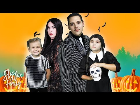 🎃 KIDS HALLOWEEN DRESS UP!! 👻 | Slyfox Family
