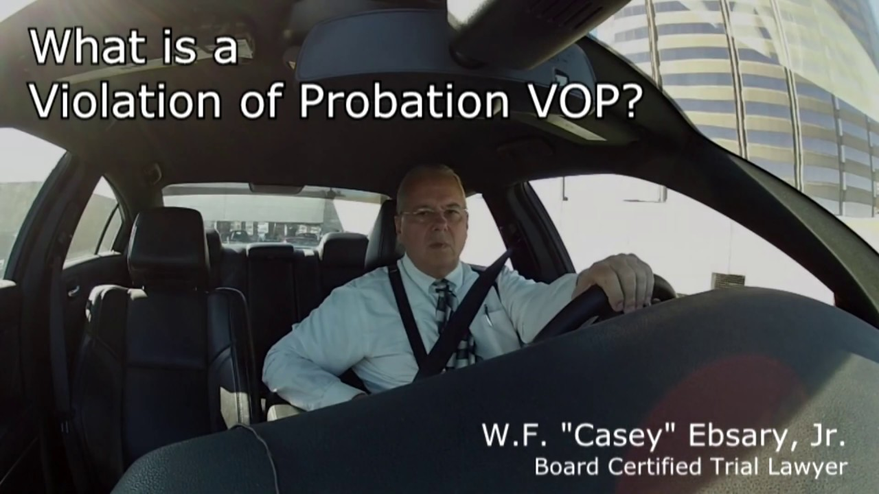 Probation Violation Videos Tampa VOP 813-222-2220 Non-compliance