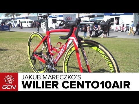 Jakub Mareczko's Wilier Cento10AIR Pro Bike