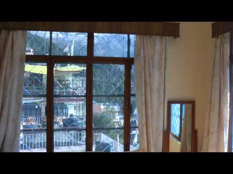 My room in Kunga Hotel, Dharamsala / McLeod Ganj, Himachal Pradesh, India