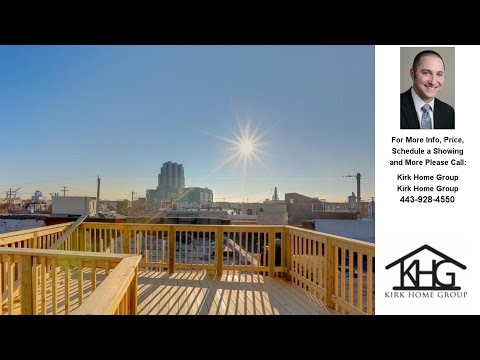 1310 Haubert St, Locust Point Baltimore, MD Presented by Kirk Home Group.