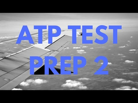 Part 2: FAA Test ATP Airline Transport Pilot and Aircraft Di