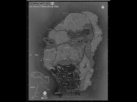 GTA 5. Secrets in Plain Site (THE MAP)
