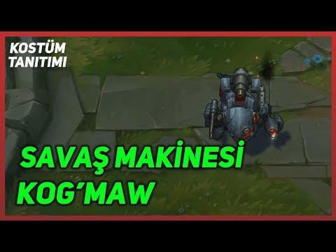 Savaş Makinesi Kog'Maw (Kostüm Tanıtımı) League of Legends