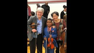 Tyler Butler-Figueroa, Violinist pop collaboration with The Borromeo String Quartet