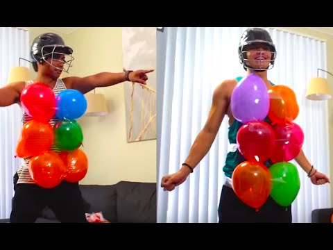 BALLOON CHALLENGE from YouTube · Duration:  6 minutes 50 seconds