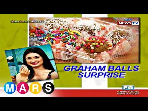 Mars Masarap: Graham Balls Surprise By Jazz Ocampo