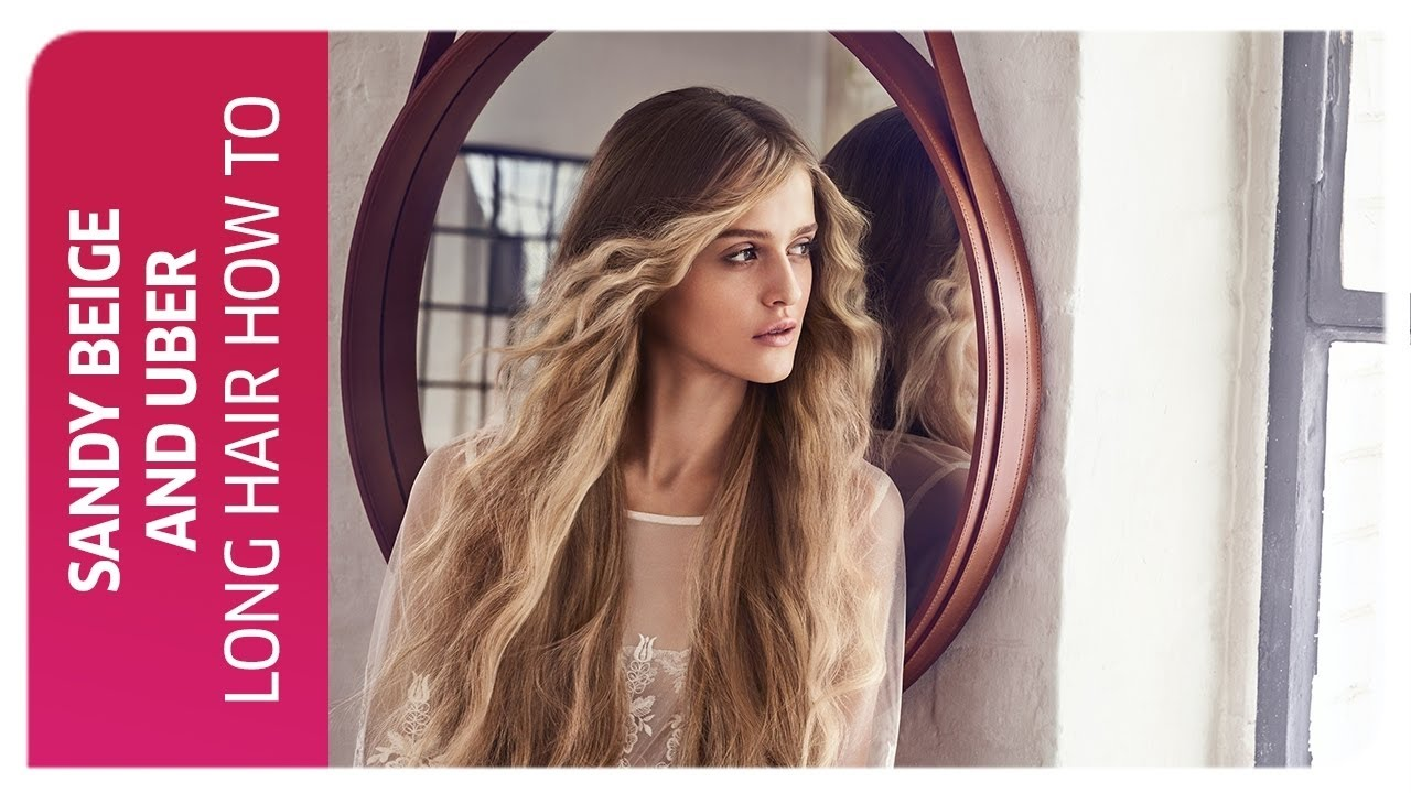 Sandy Beige Color Hair Contouring How To Wella Professionals