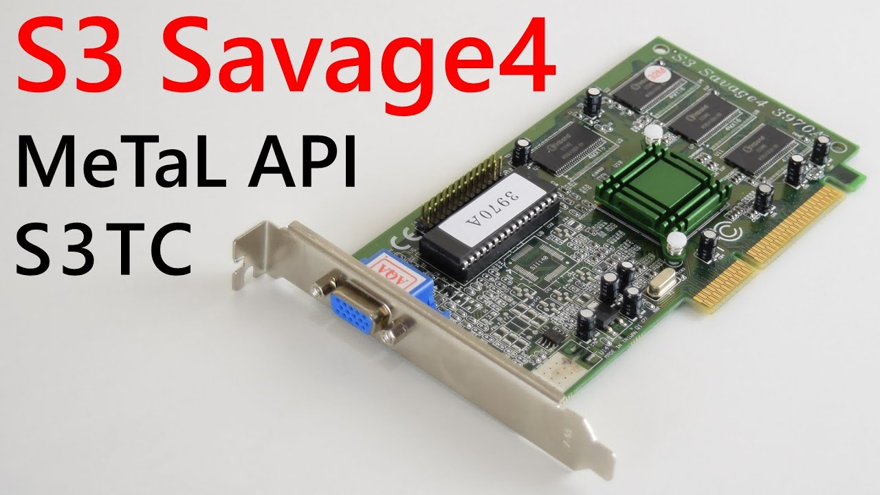 3D LABS SAVAGE 4 DRIVERS PC