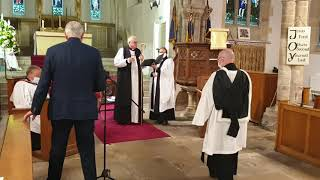 The Institution and Induction The Revd Iain Osborne