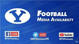 BYU Football - Media Availability - November 4, 2019