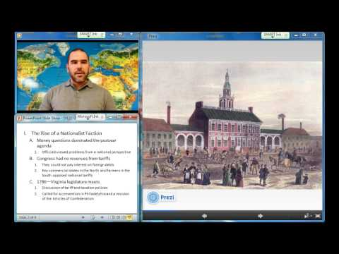 Video Lecture 22: The Constitution of 1787