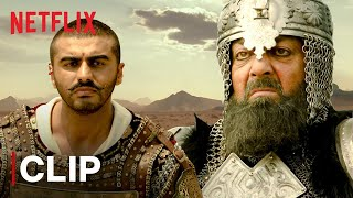 Arjun Kapoor Army Motivational Speech | Panipat | Netflix India