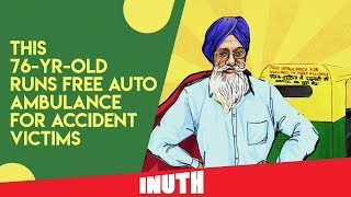 This 76-Year-Old Runs Free Auto Ambulance For Accident Victims