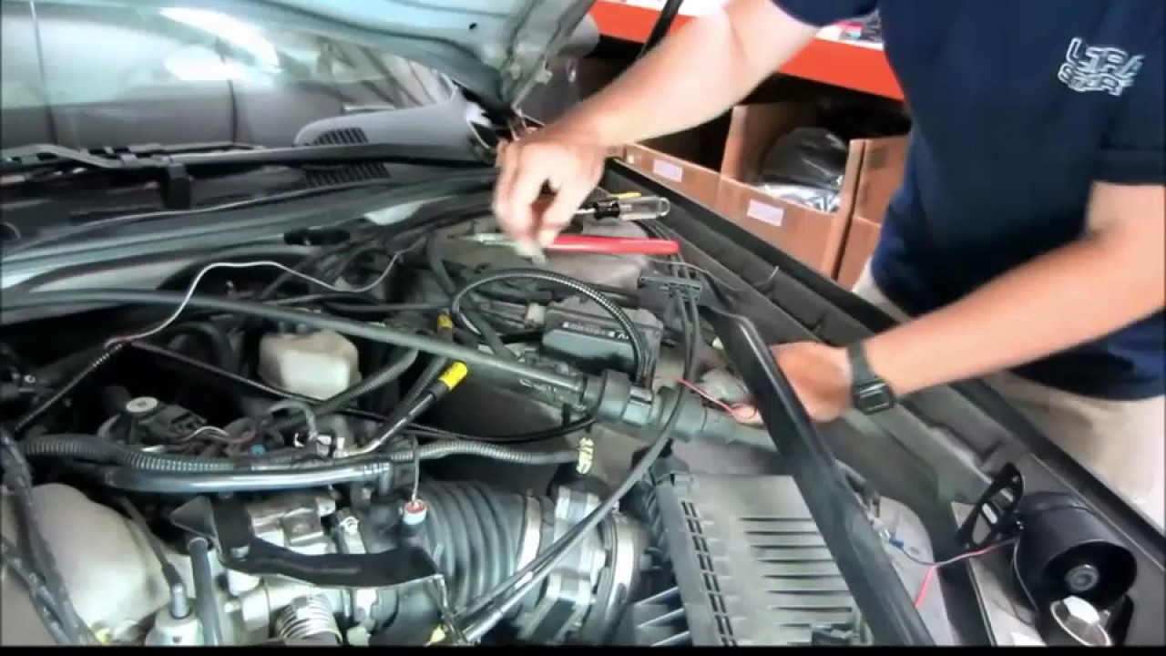 Gmc 1500 >> How to get wires through a firewall and make connections under the hood - YouTube