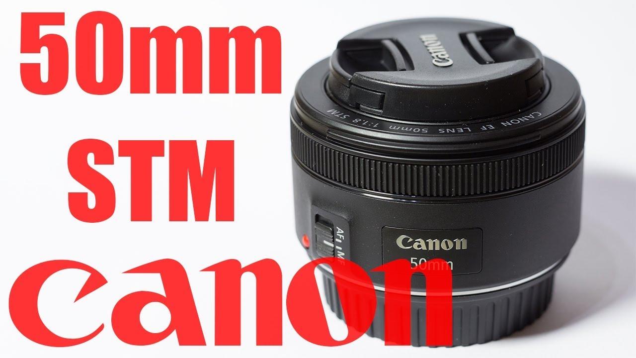 Canon 50mm f1.8 STM Lens chụp chân dung giá rẻ